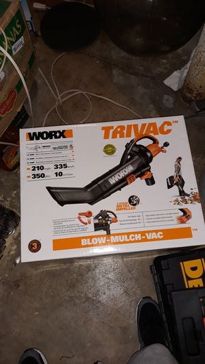 Trivac leaf blower and mulch maker for Sale in Rose Valley, PA