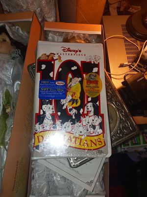 Original 101 dalmations. In plastic for Sale in Festus, MO
