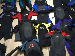 Wetsuits shorty spring suits youth, kids,adults ,boogie board bodyboard surfing swimming for Sale in Oakland, CA
