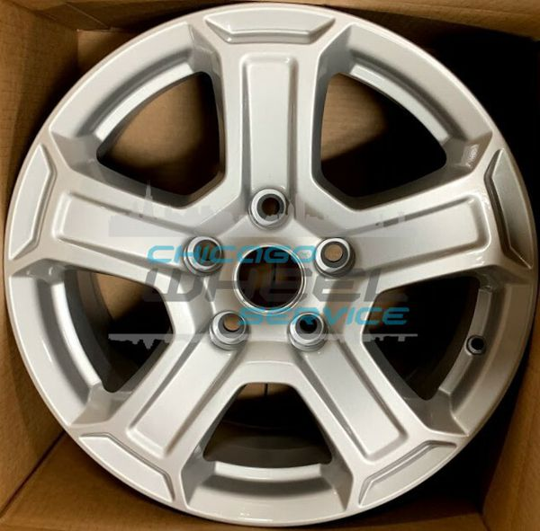 ALY9216 Jeep Wrangler Wheels Painted Silver #5VH23TRMAA