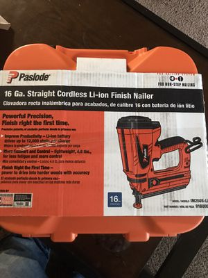 Paslode Li-ion+ fuel Nail Gun brand new for Sale in El Dorado Hills, CA
