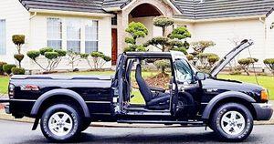 ֆ12OO Ford Ranger 4WD for Sale in Phelan, CA