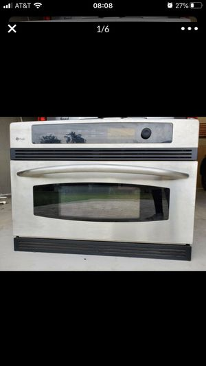 GE Profile 30 Inch Advantium Wall Oven with 1.25 cu. ft Stainless Steel for Sale in Winter Haven, FL