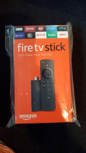 Amazon Fire TV Stick With Alexa Remote for Sale in Ontarioville, IL