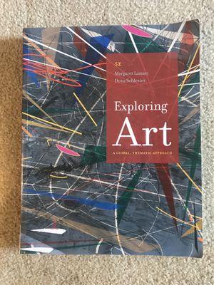 Exploring Art book for Sale in Orange, CA