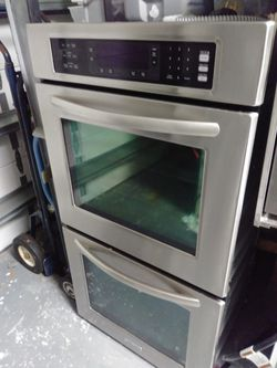 """KitchenAid 27"""" Stainless Double Convection Wall Oven Model KEBS278SSS for Sale in Pompano Beach,  FL"""