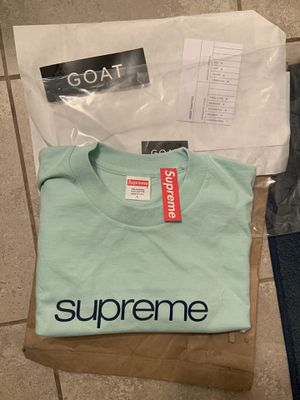 Supreme Brand new size Large Light Teal for Sale in Fresno, CA