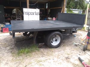 Custom built dump trailer from a 1978 Chevy dump truck for Sale in Lakeland, FL
