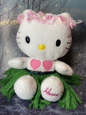 Sanrio Tropical Hawaii Hello Kitty 6.5 Plush toy doll for Sale in Bellflower, CA
