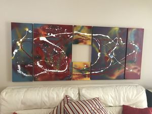 Extra large abstract painting for Sale in Davenport, FL