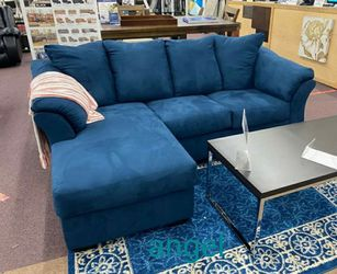 🎁BRAND NEW 🎇[SPECIAL] Darcy Blue Sofa Chaise for Sale in Laurel,  MD