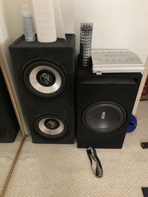 Car audio equipment for Sale in Los Angeles, CA