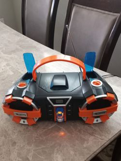 Hot Wheels Boombox CD Player FM AM Radio HW560 2011 Mattel Working with Cord for Sale in Carbonado,  WA