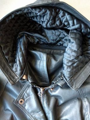 Argentine leather jacket size L/M for Sale in San Diego, CA