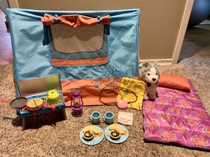American Girl Doll Tent & Camping Supplies for Sale in Bothell, WA