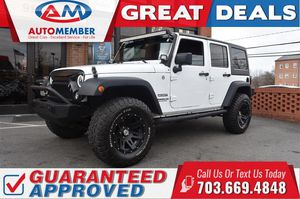 2014 Jeep Wrangler Unlimited for Sale in Leesburg, VA