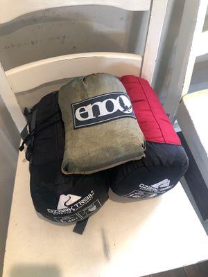 Sleeping Bags & Eno Hammock for Sale in Vista, CA