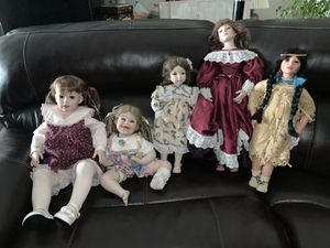 Antique German doll collection for Sale in Phoenix, AZ