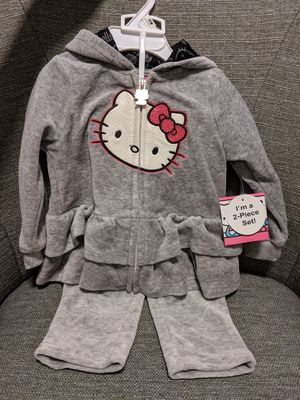 BNWT / NEW Hello Kitty sweat suit -- size 12mo for Sale in Redmond, WA