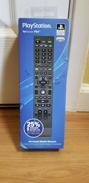 Media Remote Controller For PS4 Console, Brand New In Box, Price Firm for Sale in Garden Grove, CA