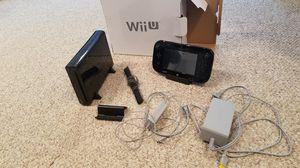 Nintendo Wii U 32gb black for Sale in Fairfax, VA