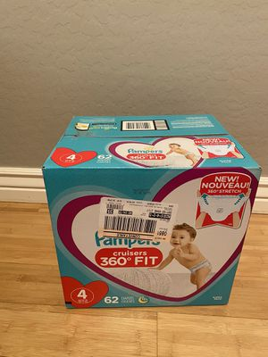 Pampers 360 Fit 62count for Sale in Avondale, AZ