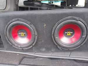 2 12 soundxtreme subs for Sale in Burien, WA