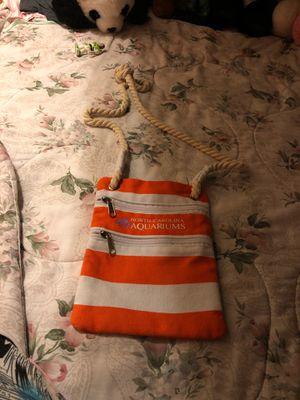 Orange side bag for Sale in Durham, NC