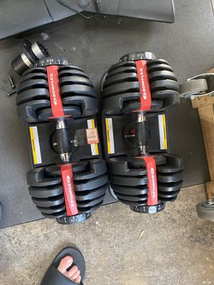 Bow flex weights for Sale in Kent, WA