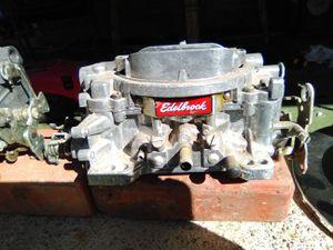 Edlebrock Performer 750cfm hi performance carburator. for Sale in Pawhuska, OK