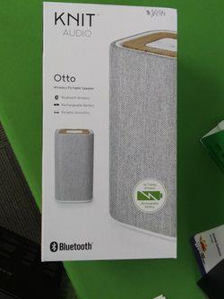 Knit Audio Bluetooth Speaker for Sale in San Angelo,  TX
