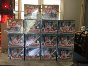 Baseball Cards 2019 Topps Series 1 and Update jumbo box factory sealed for Sale in Silver Spring, MD