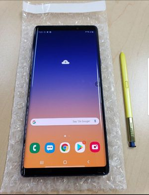 """Samsung Galaxy Note 9 128GB FACTORY UNLOCKED"""" Like new with warranty for Sale in Silver Spring, MD"""
