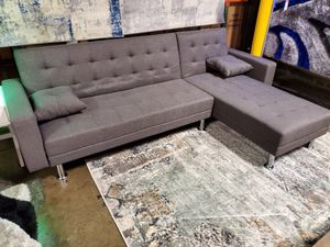Sectional Sofa Bed, Gray for Sale in Santa Ana, CA
