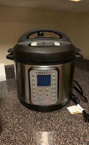 Instant Pot DUO Plus 60, 6 Qt 9-in-1 Multi- Use Programmable Pressure Cooker, Slow Cooker, Rice Cooker, Yogurt Maker, Egg Cooker, Sauté, Steamer, War for Sale in Los Angeles, CA