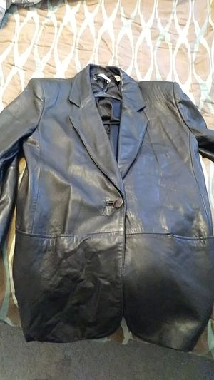 Valerie Stevens new Zealand lambskin leather jacket for Sale in Cleveland, OH