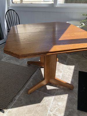 Oak Kitchen Table for Sale in Virginia Beach, VA