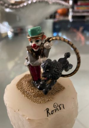 Ron Lee Clown w/ dog for Sale in Boca Raton, FL