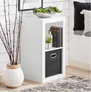 White bookcase bookshelf storage organizer - NEW for Sale in Taylor, MI