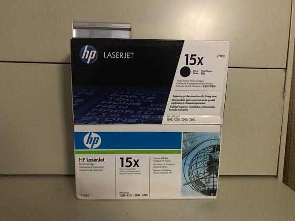 Printer Toner: hp LaserJet 15x (SET OF TWO)