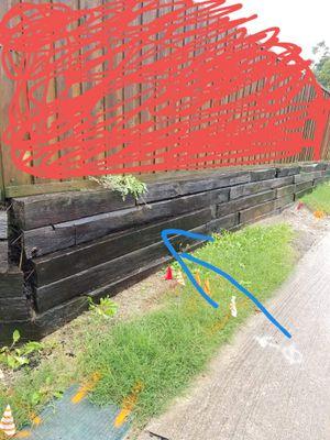 troncos de muro de contención for Sale in Dallas, TX