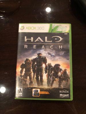 Halo reach Xbox 360 game for Sale in Dallas, TX