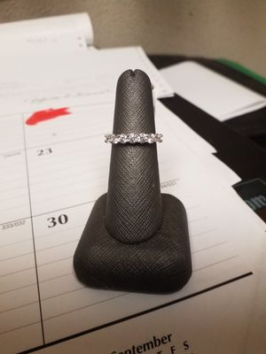 18Kt White Gold Diamond Band Sz 6 1/4 for Sale in Denver, CO