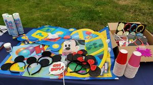 Mickey mouse bday decor!! for Sale in Tacoma, WA