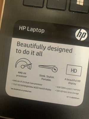 Rose Gold HP Laptop for Sale in Philadelphia, PA