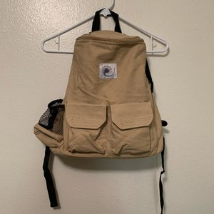 Ergo Baby Backpack Daypack Side Top Zipper Tan Gift Travel Maternity Diaper Bag for Sale in Colorado Springs, CO