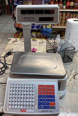 Detectó scale with printer for Sale in Avondale, AZ