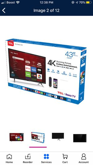 TCL Roku tv 4K for Sale in Concord, NC