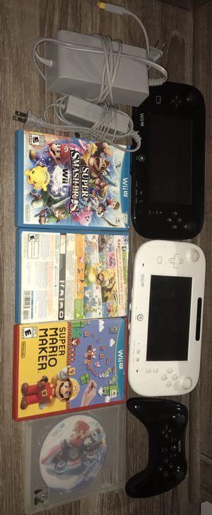 Nintendo Wii u bundle for Sale in Los Angeles, CA