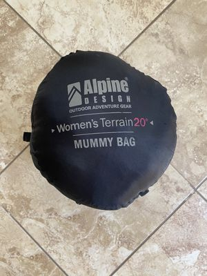 Alpine Design 20 degree sleeping bag for Sale in Tampa, FL